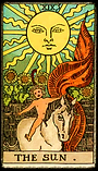The Sun: Tarot Reader Virginia
