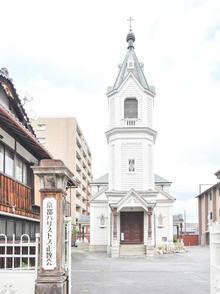 教会が目印