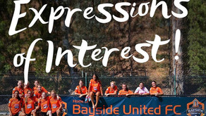 Expressions of Interest for Playing 2022