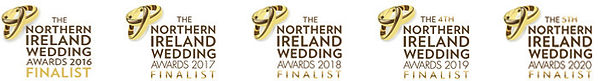 NI Wedding Awards Finalist Badges