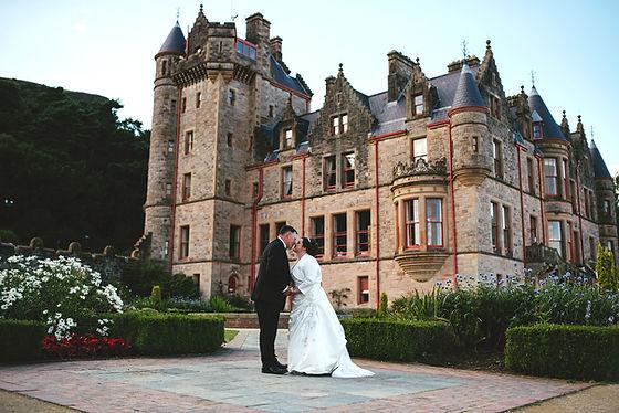 Fairytale castle wedding at Belfast Castle