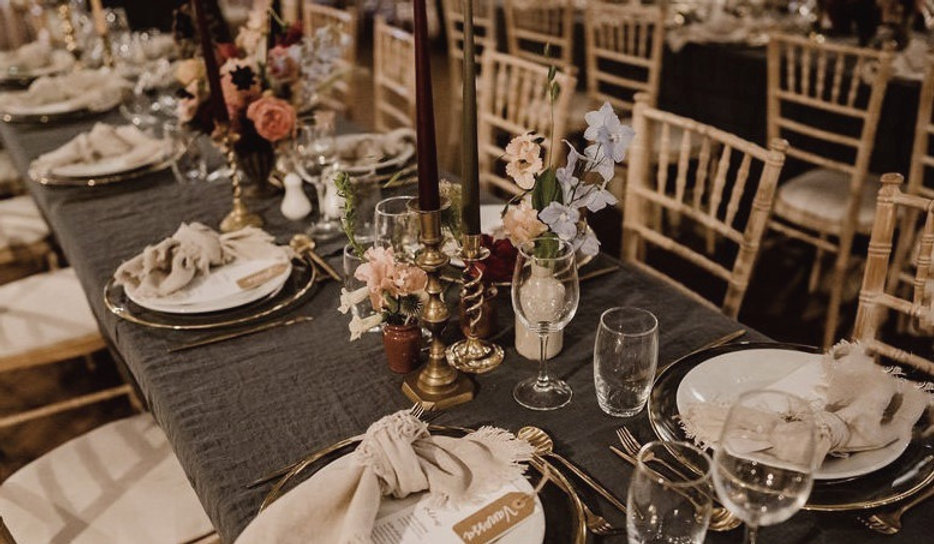 Wedding Table at Larchfield
