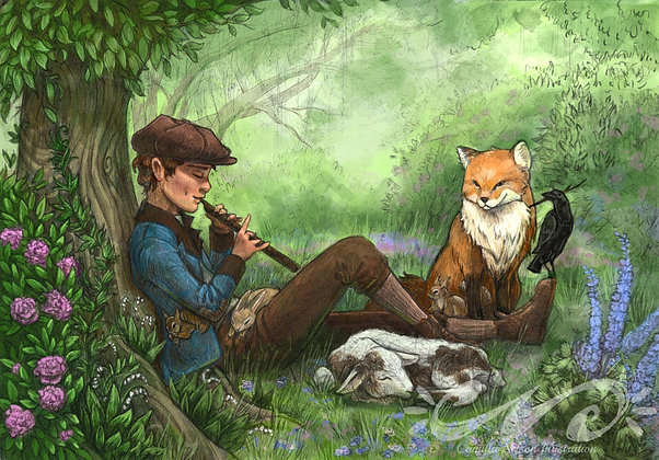 Dickon's Animals- from the Secret Garden