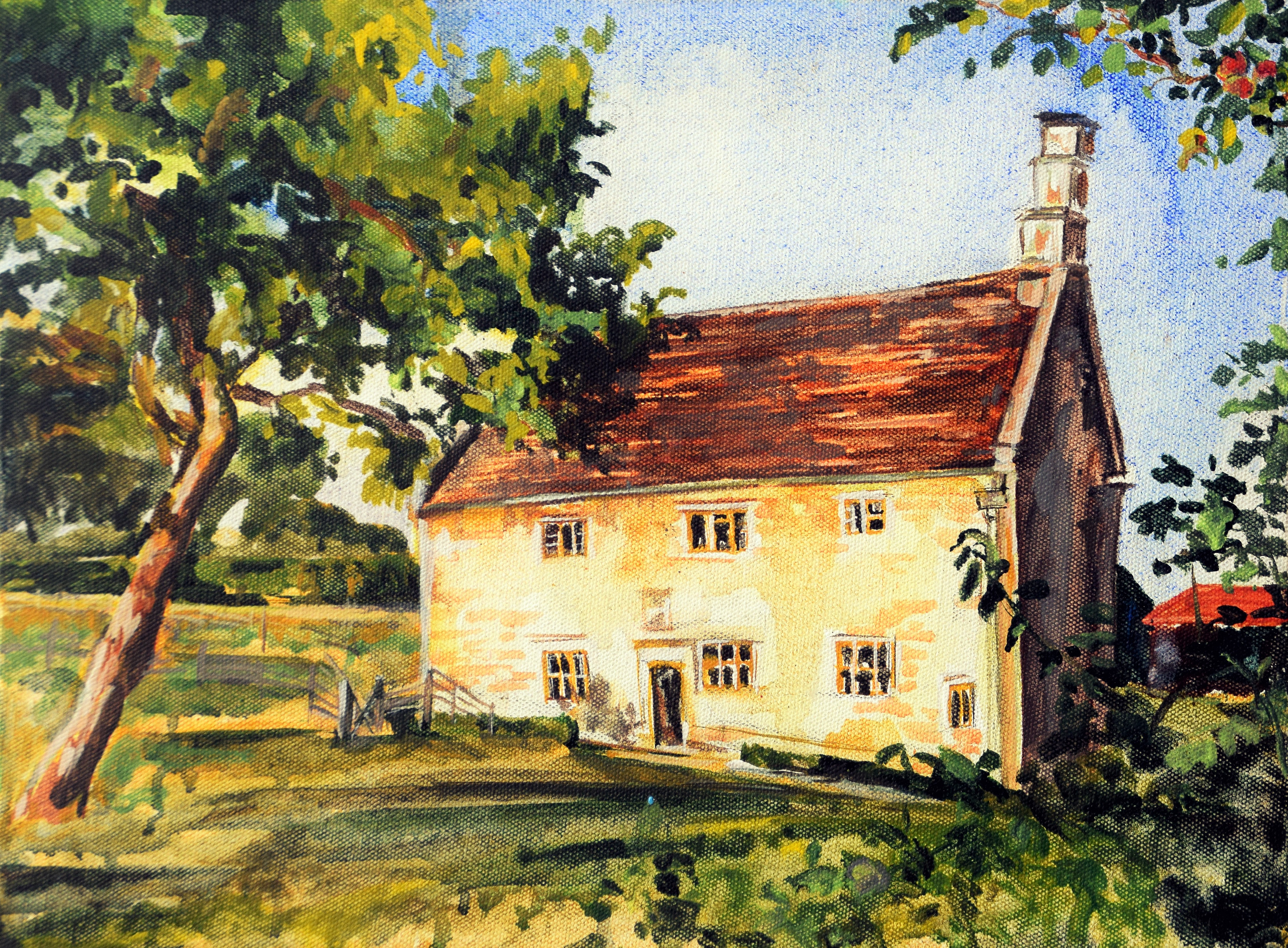 Newton's House & The Apple Tree