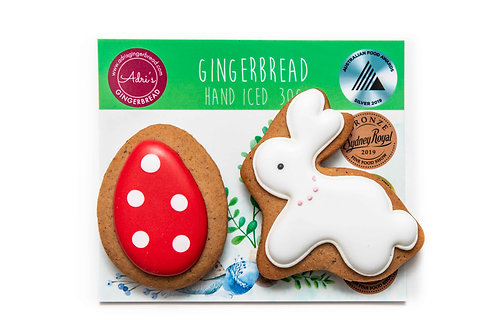 Bunny and Egg 2pk - Red