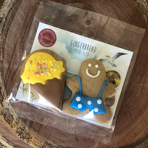 Gingerbread Man and Ice Cream