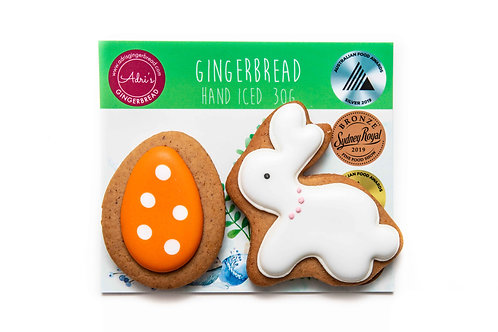 Gluten and Dairy FREE Bunny and Egg 2pk - Orange