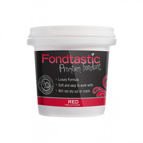 Fondtastic Premium Fondant - Red 226g