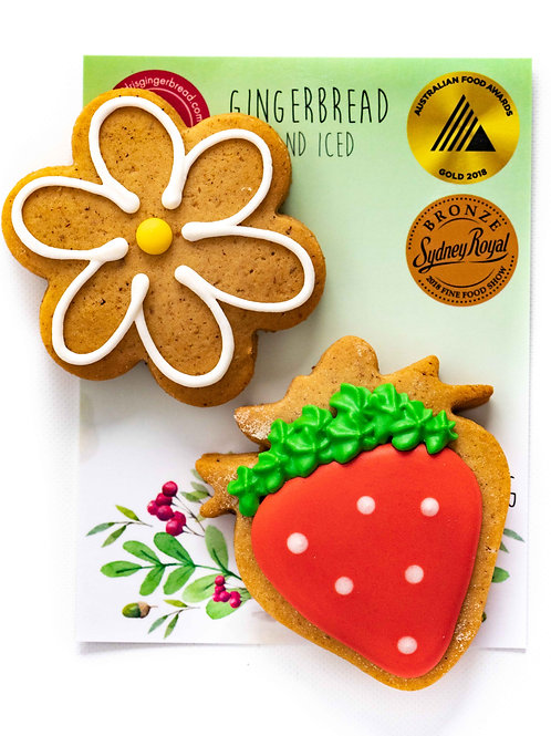 Strawberry and Flower 2pk