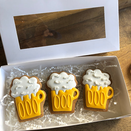 Beer Gingerbread Gift Box 3pk