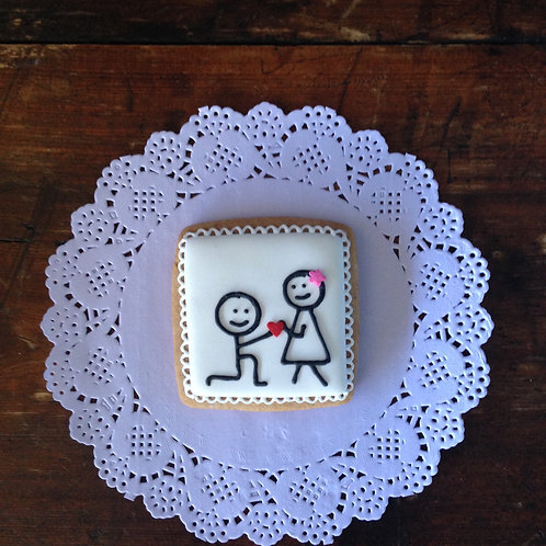 Engagement Gingerbreads