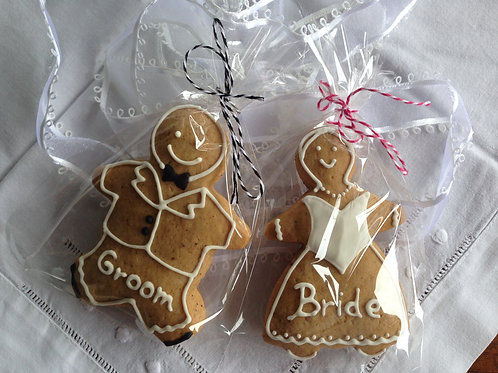 Bride and Groom with names