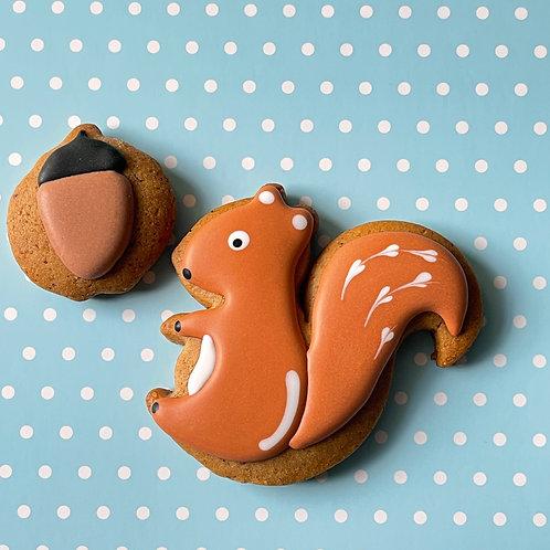 Squirrel Gingerbread