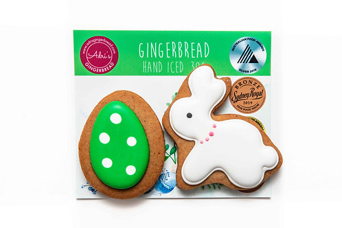 Bunny and Egg 2pk - Green