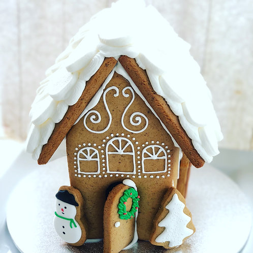 Large Gingerbread House