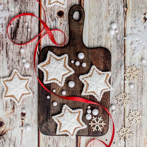 Vintage Gingerbread Stars