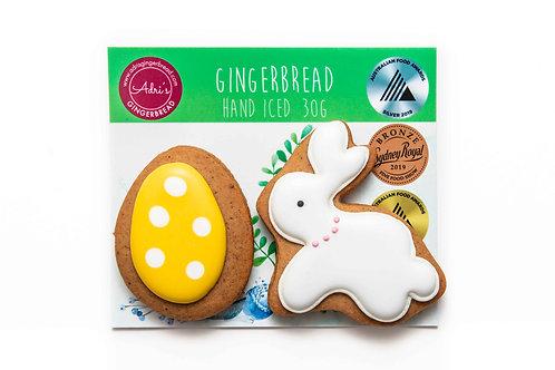 Bunny and Egg 2pk - Yellow