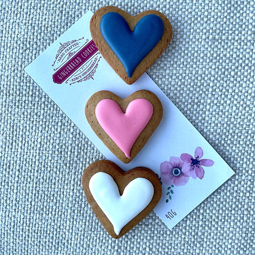 3pk Mini Hearts with Blue