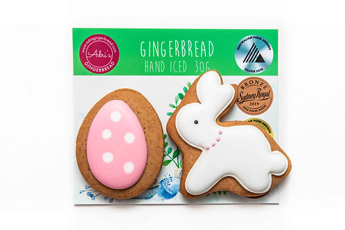 Bunny and Egg 2pk - Pink