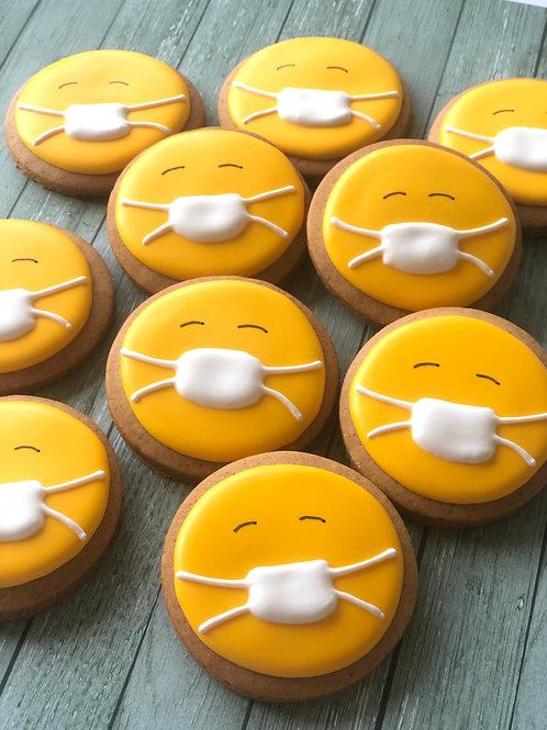 Sick Emoji Gingerbread 1x