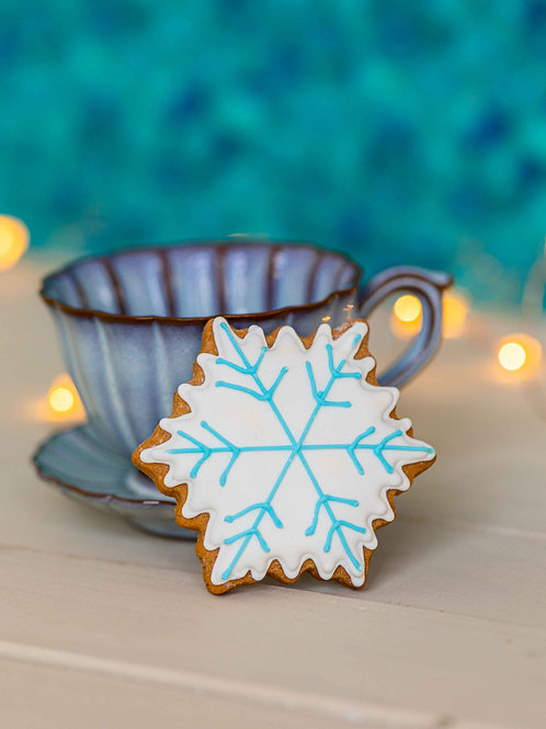 Gluten and Dairy FREE Bulk 12x of Snowflake with blue