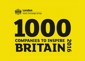 1000 COMPANIES TO INSPIRE BRITAIN.