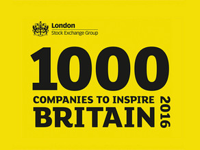 1000 COMPANIES TO INSPIRE BRITAIN.