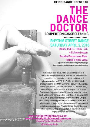 Rhythm Street Dance Doctor Solo Add On
