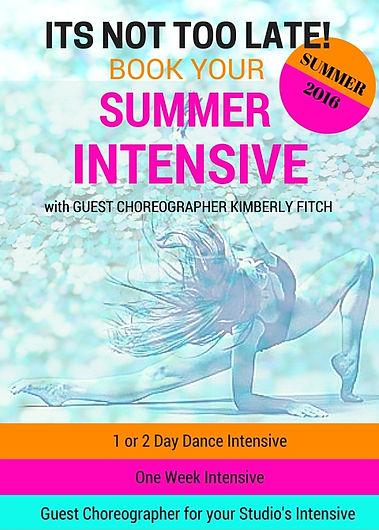 Summer Intensive