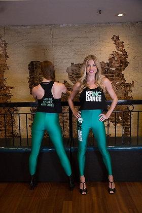 Shiny Lycra Mint Green Legging