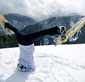 Fun yoga en wintersport