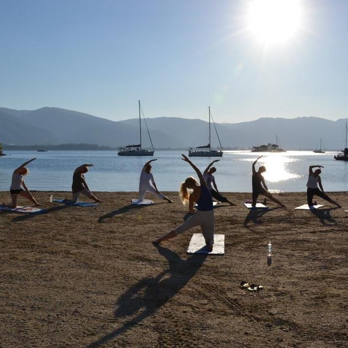 Yogaweek op het Griekse eiland Poros ~ informeer voor reserveplek