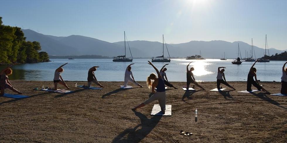 Yoga & olijfoogst op het Griekse eiland Poros ~ yoga van Ester de Vos ~ nog 3 plekken
