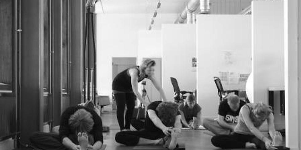 Yin yogales met mini massages