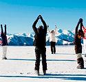 Yoga op de piste