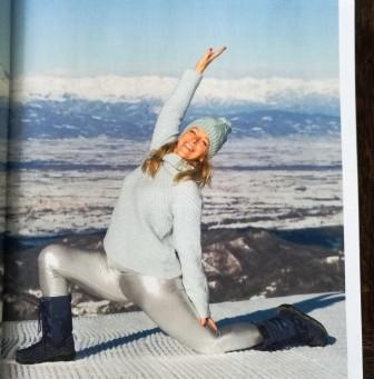 Verwelkom de winter - Reportage Yoga Magazine