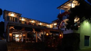 Hotel Odyssey by night