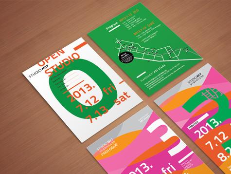 MAKESHOP ARTSPACE studio M17 postcard