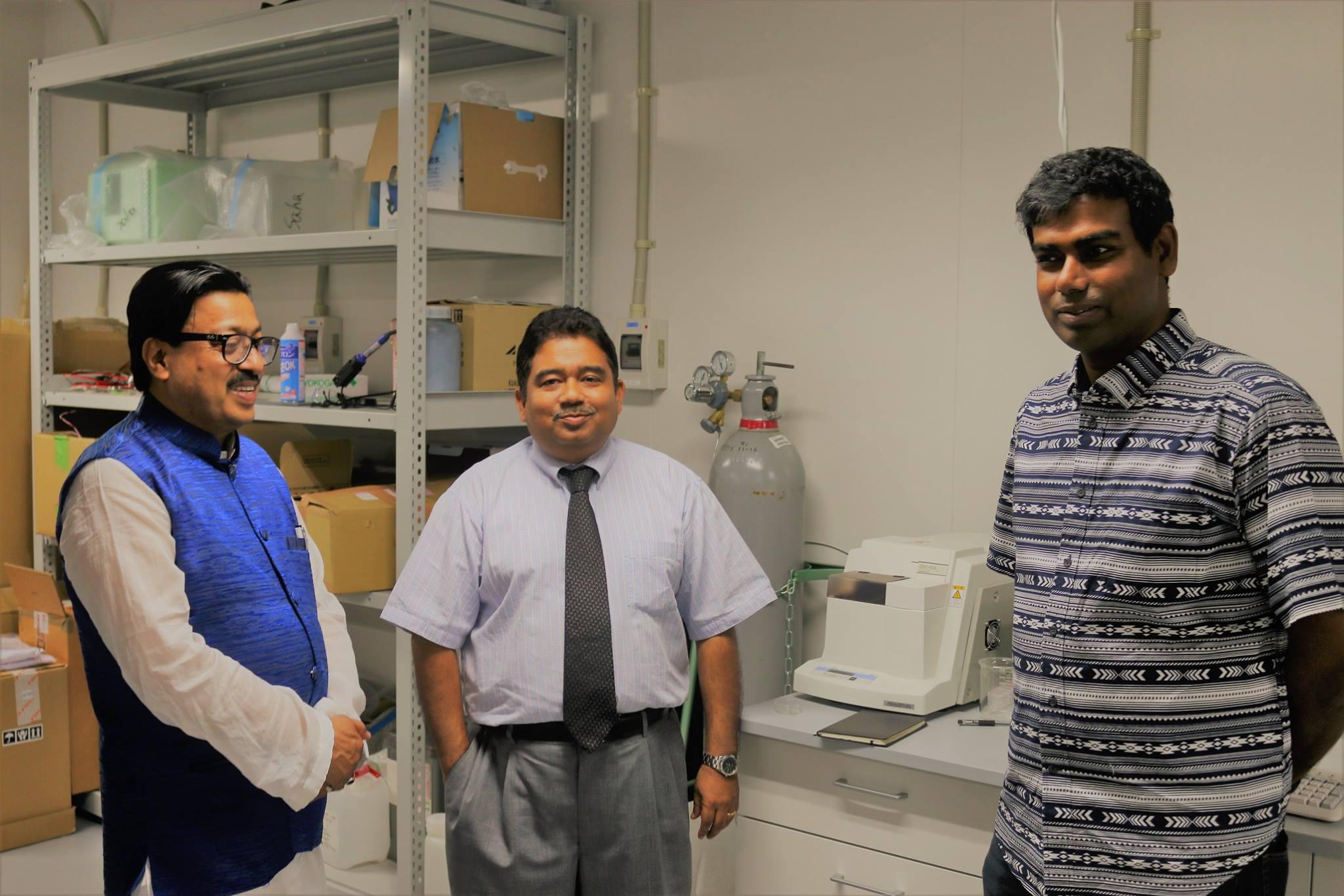 Prof. Dr. Wahiduzzaman at Kyushu