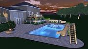 pool designer, landscaper, designer
