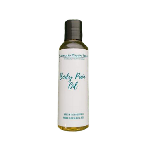 Limited edition Body Pain Oil