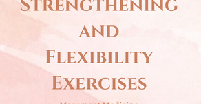 There's no excuse for not getting off your feet! Try these Strength and Flexibility exercises.