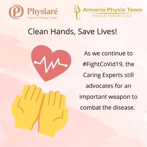 Clean Hands, Save Lives! #FightCoVid19