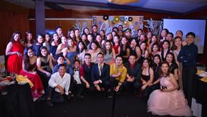 Almario Physio Team celebrates its Masquerade-themed Christmas party!