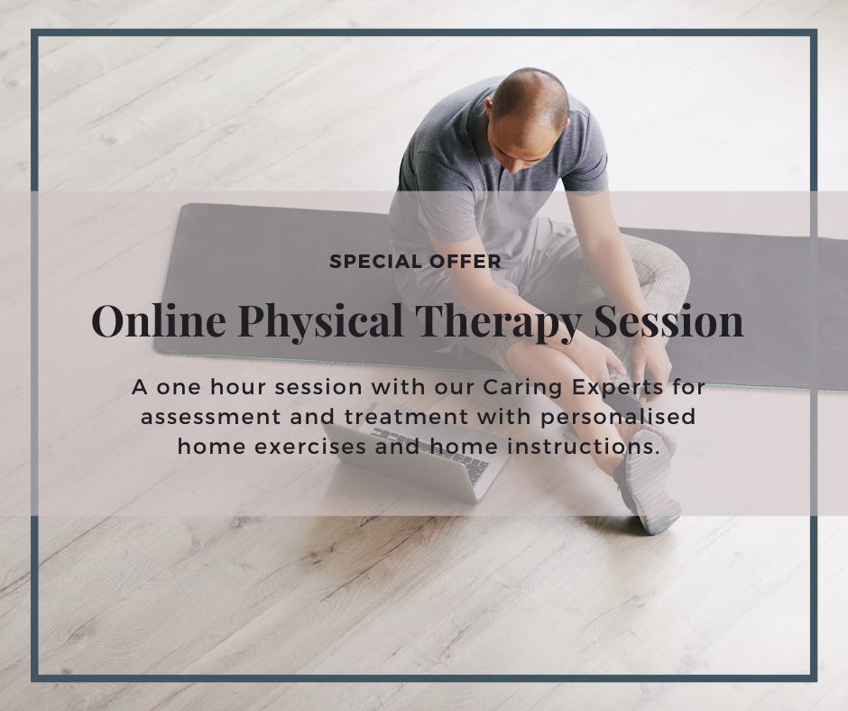 Online Physical Therapy Session