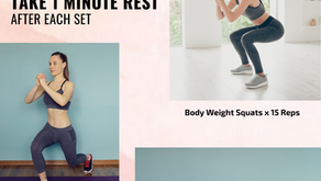 Quick Body Weight Exercises to Boost your Immune System!