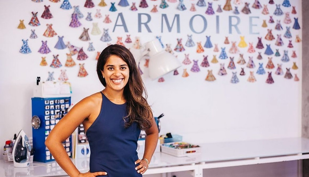 Ambika Singh, CEO of Armoire