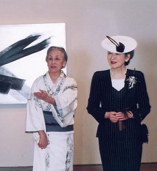 Т. Шинода и Her Majesty Mitiko.jpg