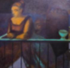 Летний Вечер  Холст, масло, 162х98 см, 2004