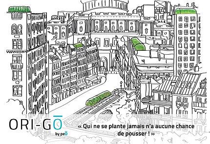 Affiche serres urbaine contextualisation